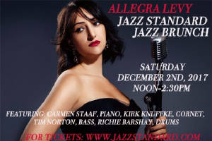 Allegra at the Jazz Standard poster.JPG