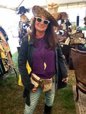 Cousin Susan at Brimfield May 2017.jpg