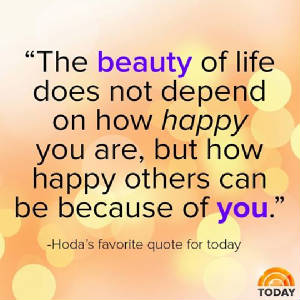 Hodas Words Of Wisdom The Beauty Life Does Not Depend