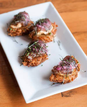 The Krunchy Spicy Tuna Latkes at Josh's.jpg