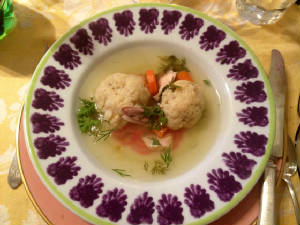 Matzah ball soup I made.JPG