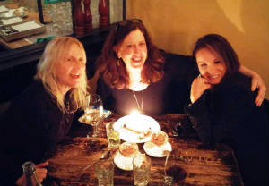 With my friends at Treva for a belated bday dinner.JPG