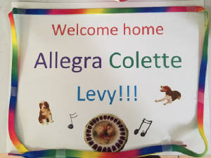 My Welcome Home Allegra sign.jpg