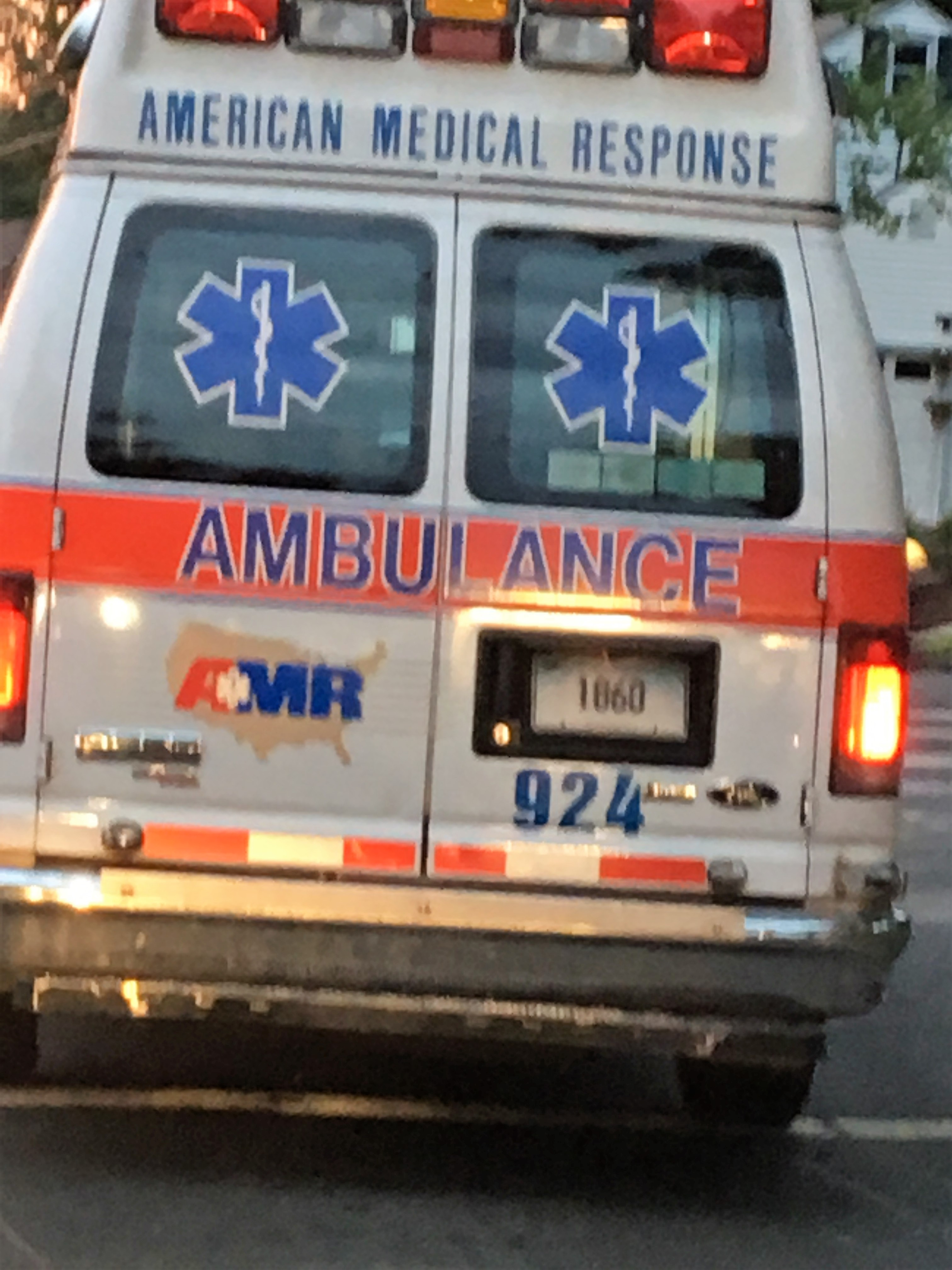 The ambulance took me to the hospital.JPG
