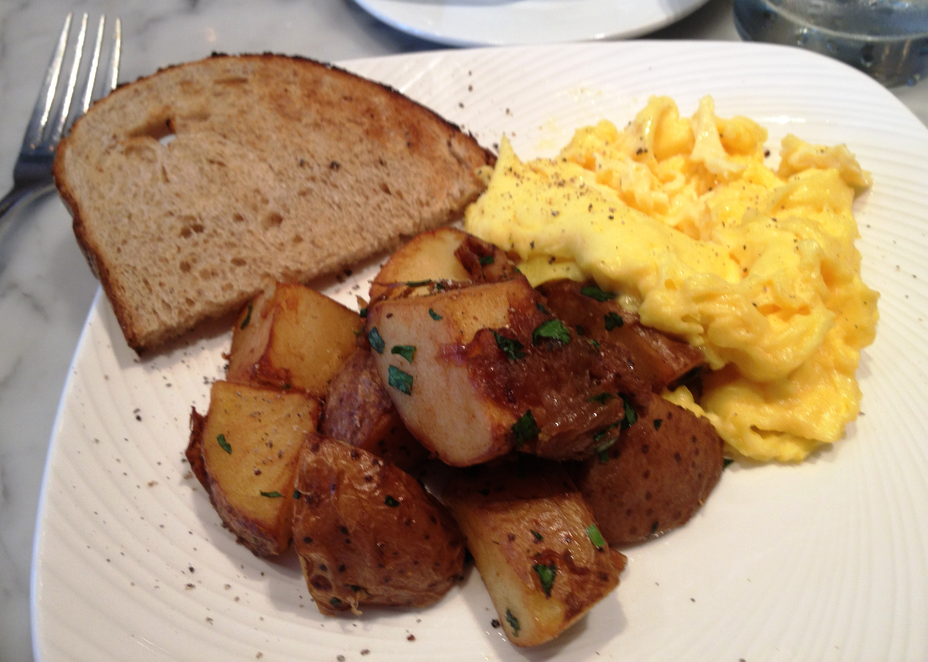 Breakfast at Charles St. Cafe.JPG