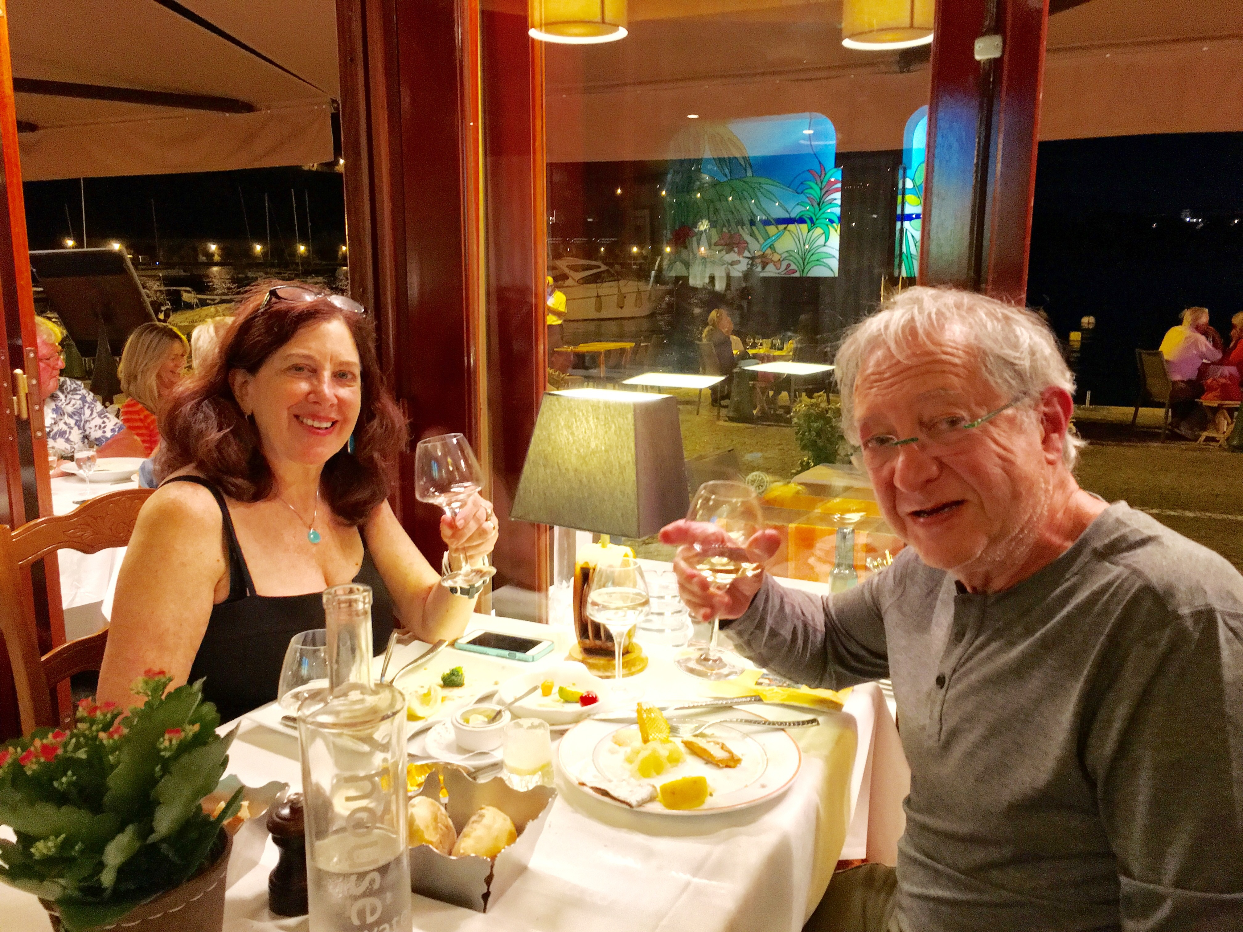Eating at Ma Mere Germaine in Villefranche.jpg