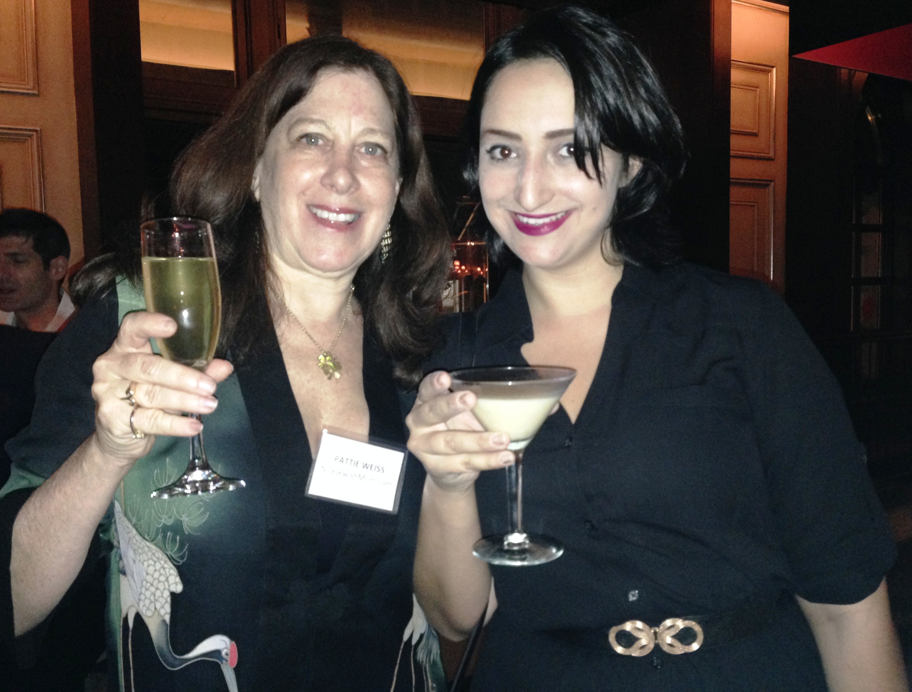Allegra and me at The Joy of Kosher book launch.JPG