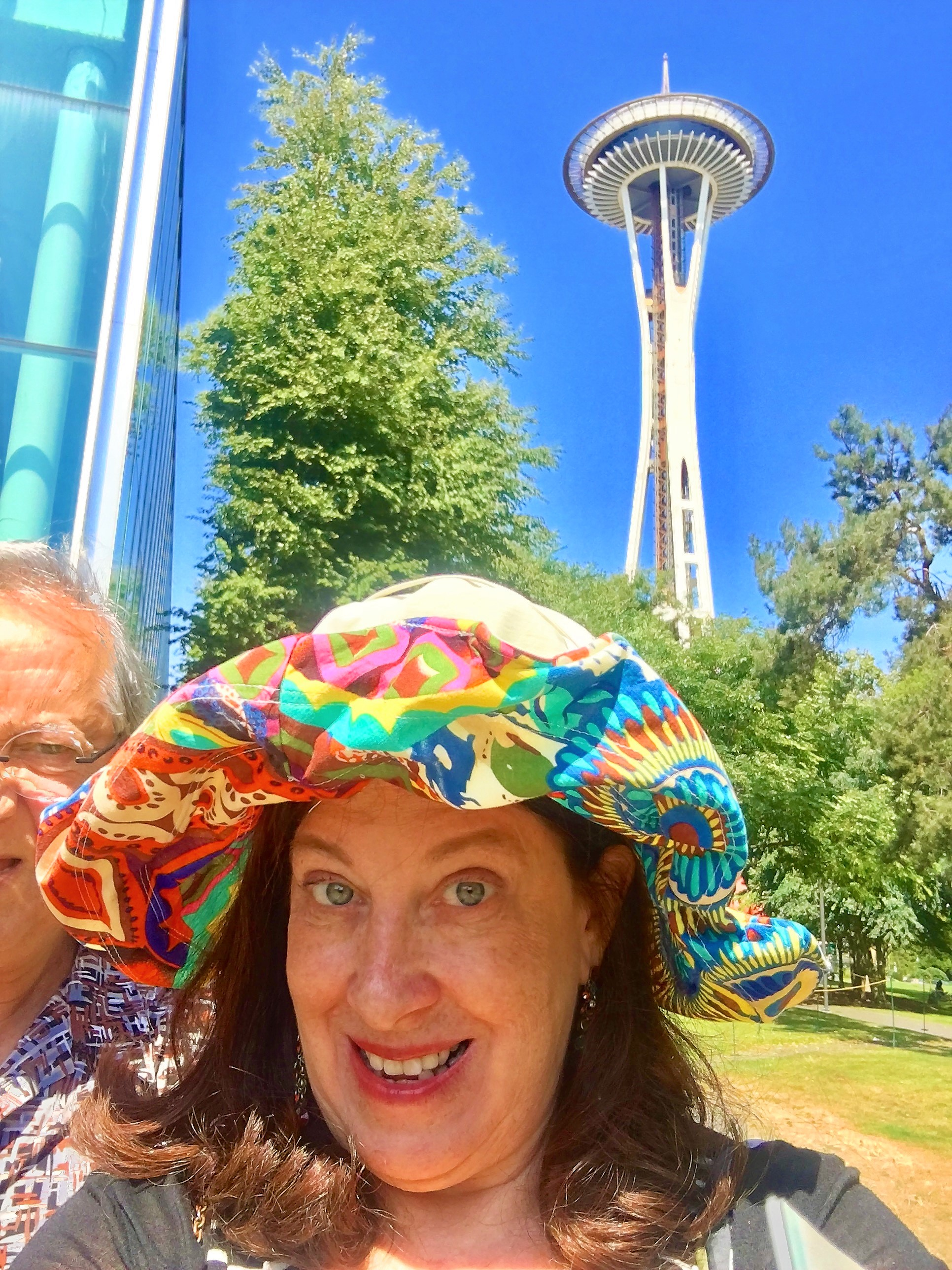 Pattie at the Space Needle in Seattle.jpg